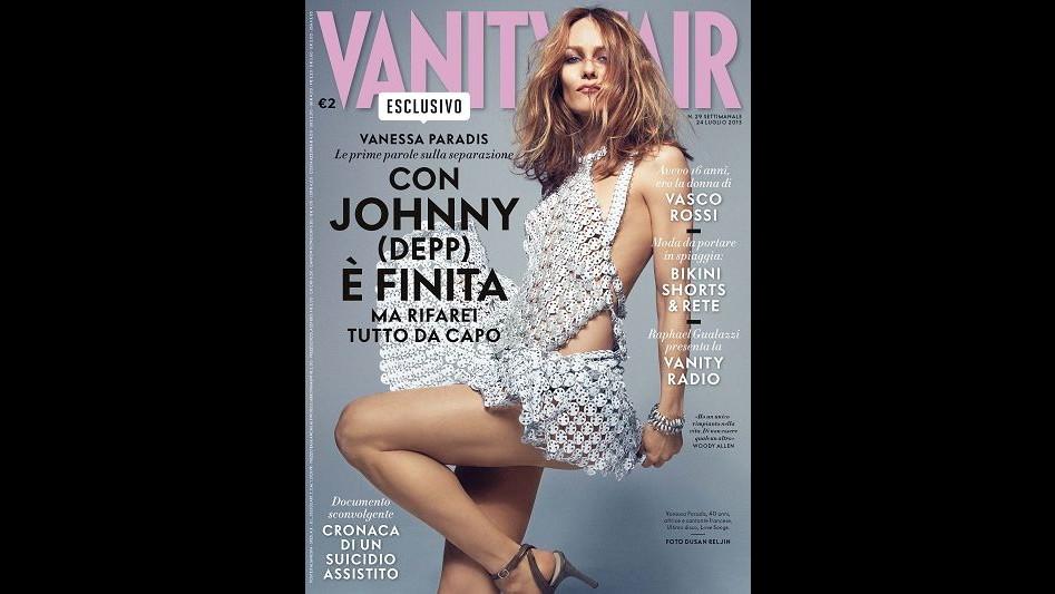 Vanessa Paradis: Con Johnny Depp è finita ma rifarei tutto da capo
