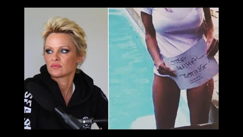 Pamela Anderson: Niente Ice Bucket Challenge per la Sla, testano su animali