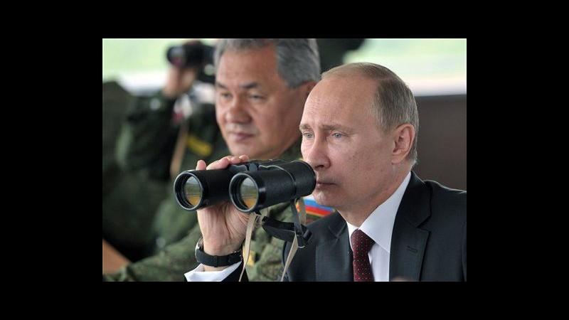 Russia, in corso maxi esercitazioni militari: Putin osserva da Sachalin