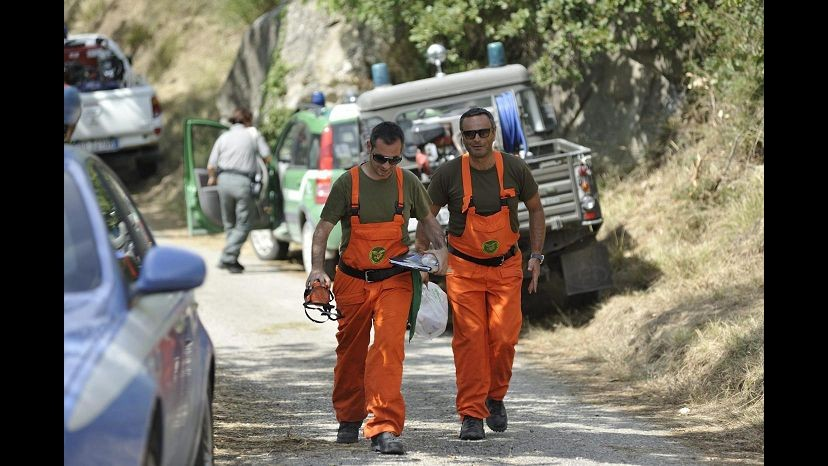 Ascoli Piceno, continuano le ricerche dei due piloti dispersi