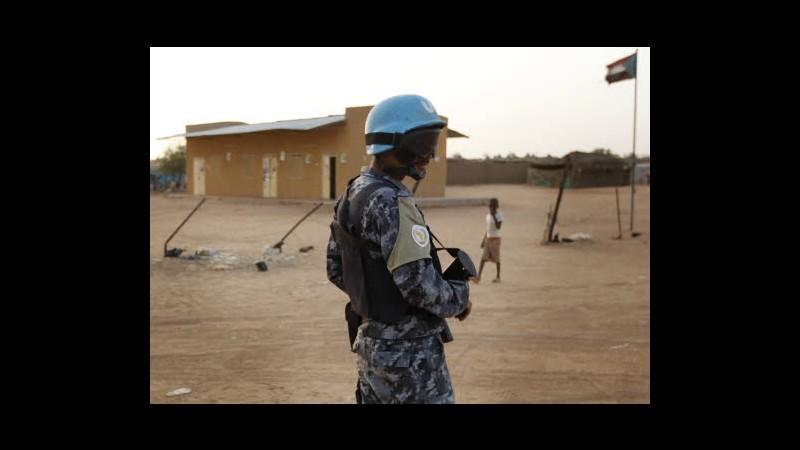 Sudan, uccisi 7 peacekeeper Onu in agguato in Darfur