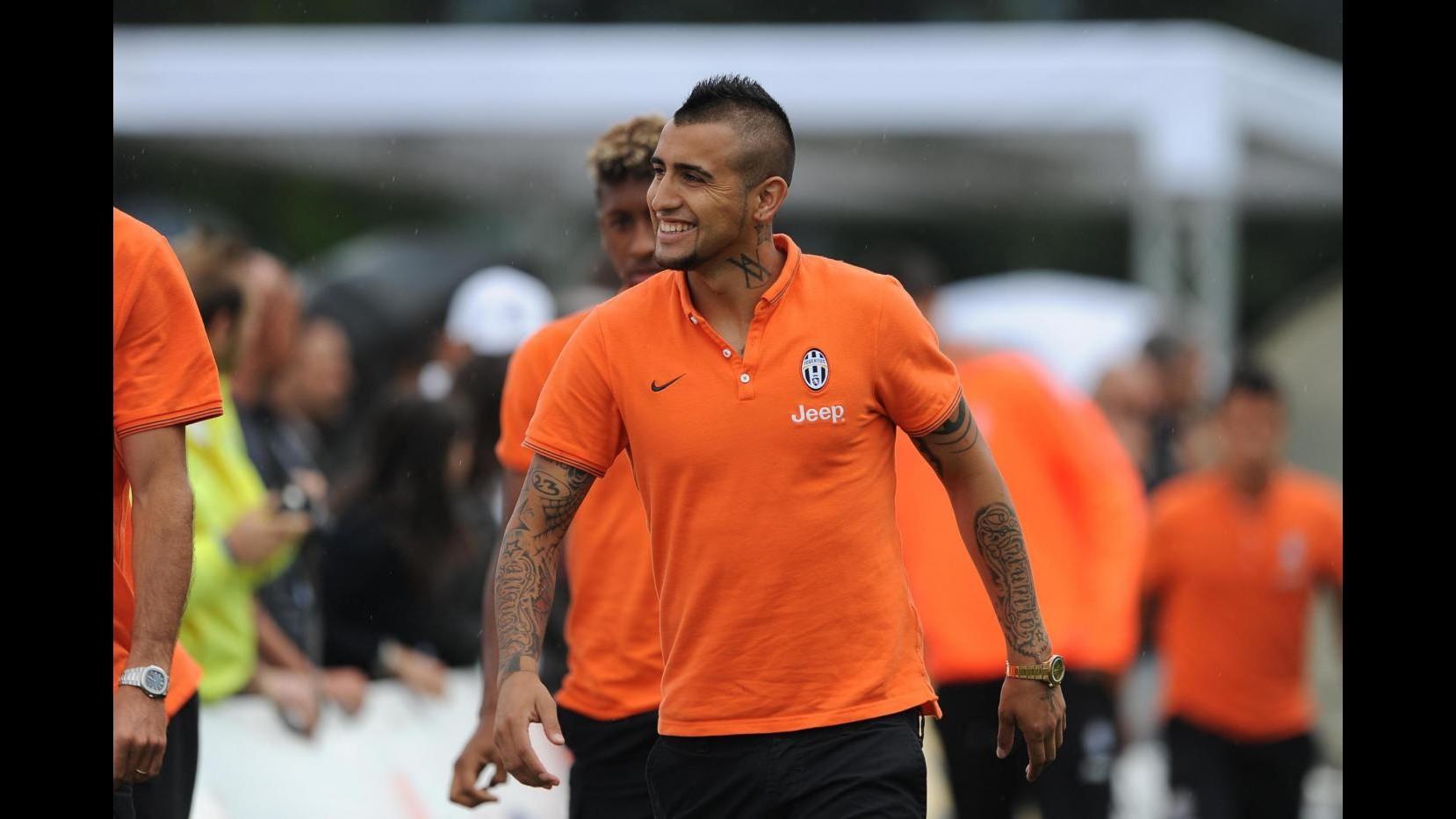 Juventus, Vidal verso il rientro: Sono pronto a giocare sabato Trofeo Tim