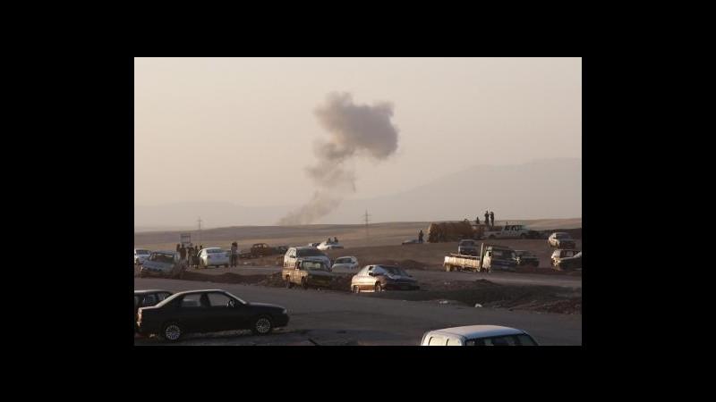 Iraq, Curdi riprendono controllo parte est della diga Mossul dopo raid aerei Usa