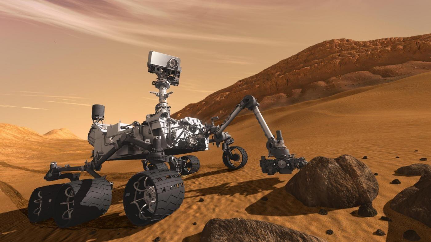 Curiosity celebra un anno su Marte: continua ricerca di segni di vita