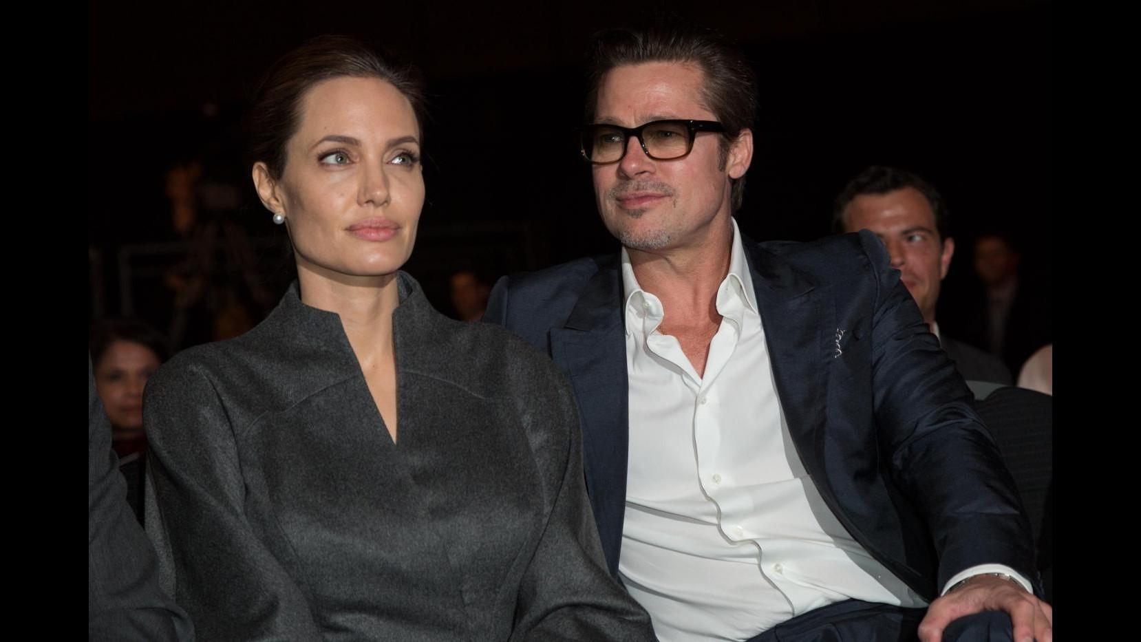Angelina Jolie: Io, una donna fortunata grazie al mio Brad