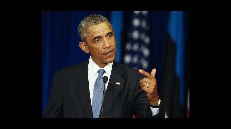 Ucraina, Obama: Da Mosca assalto deplorevole, minaccia pace Europa