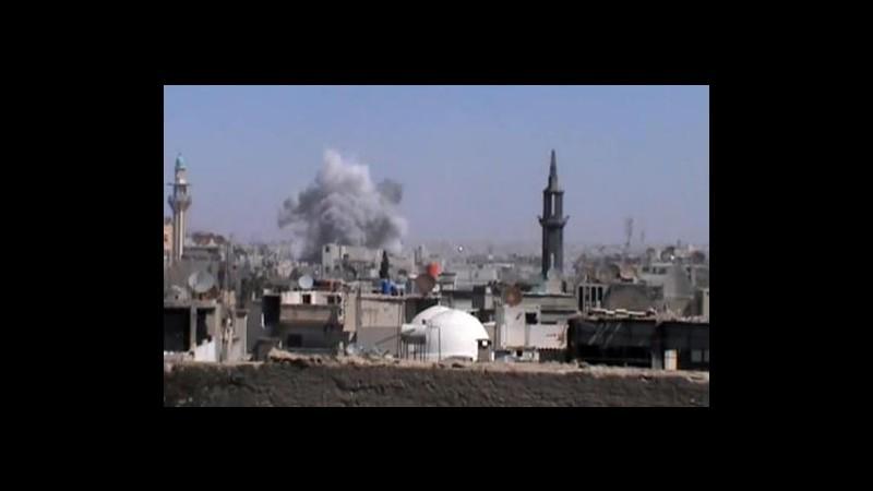 Siria, esplode deposito armi a Homs dopo attacco ribelli: 40 morti