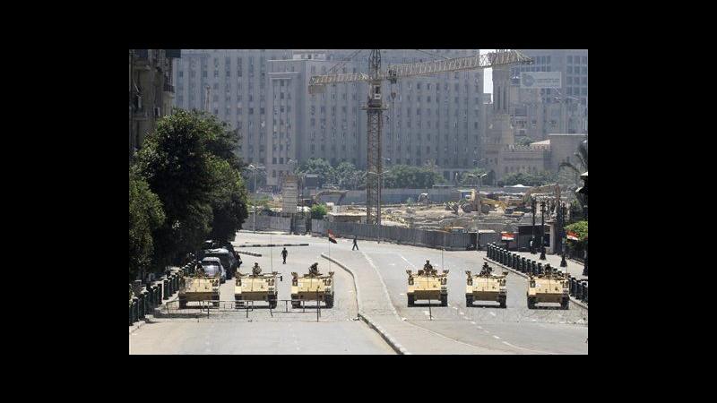 Egitto, nuovo venerdì di protesta: cortei pro Morsi in molte città