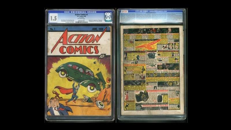 Usa, copia 1° fumetto Superman venduta su eBay a 3,2 milioni dollari