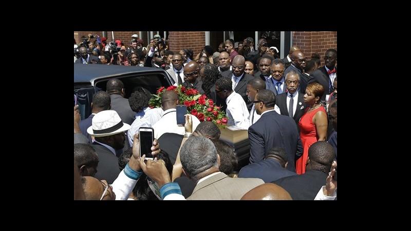 Usa, migliaia ai funerali di Michael Brown a St. Louis