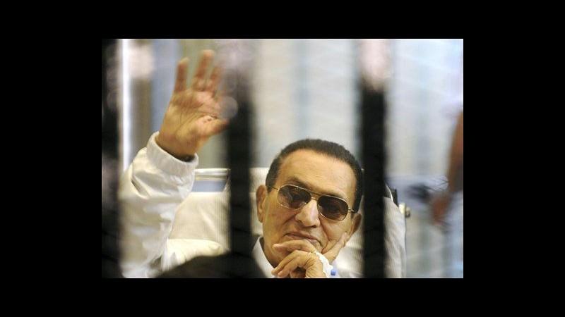 Egitto, scarcerato Mubarak:ora è in un ospedale militare al Cairo