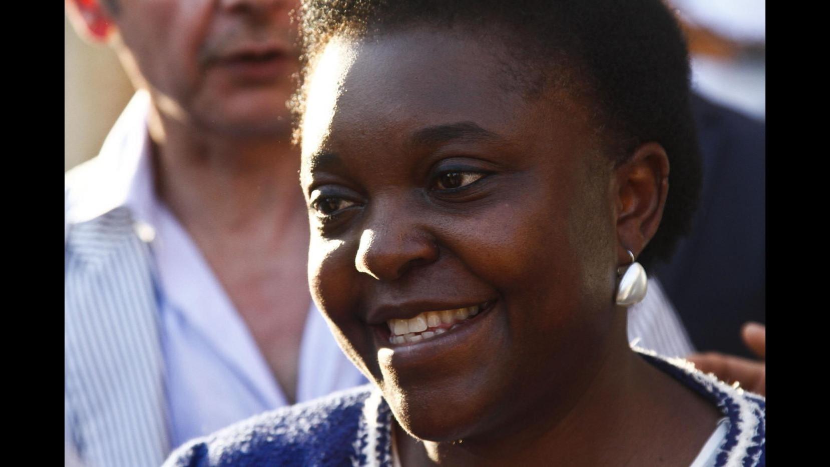 Kyenge in Calabria: Avanti con ius soli, questo non è un mio capriccio
