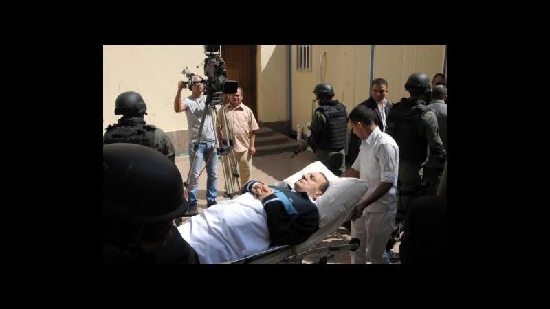 Egitto, Mubarak potrebbe essere rilasciato in settimana