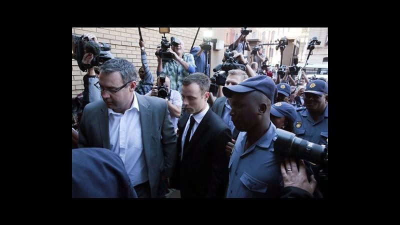 Caso Pistorius, giudice: No prove per premeditazione, ma atleta fu negligente