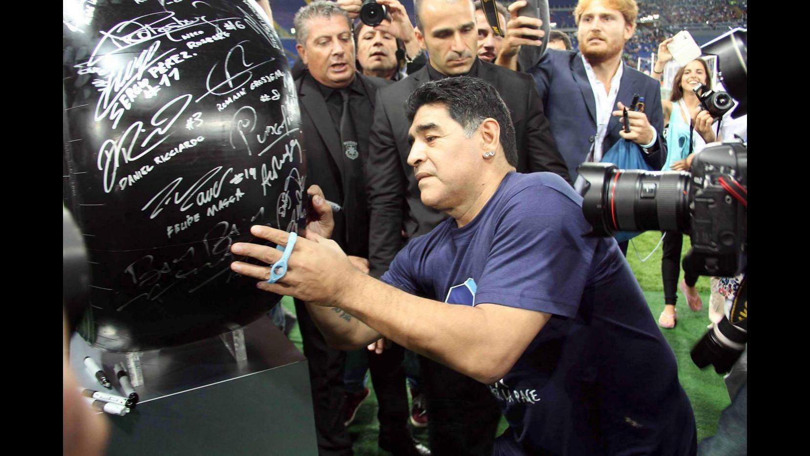 Maradona coinvolto in una rissa in Croazia fuori da una discoteca