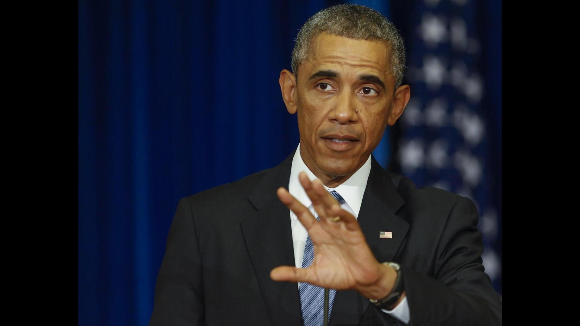Ucraina, Obama: Confini non si disegnano con pistola alla testa