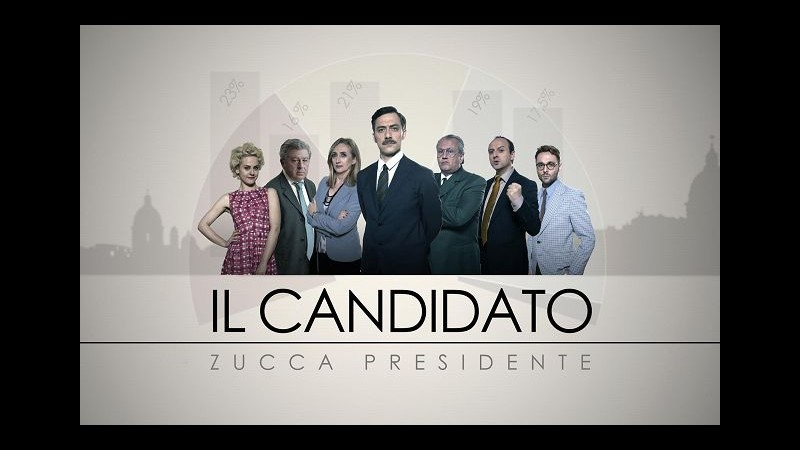 Rai3, stasera a 'Ballarò' parte la serie satirica 'Il candidato'