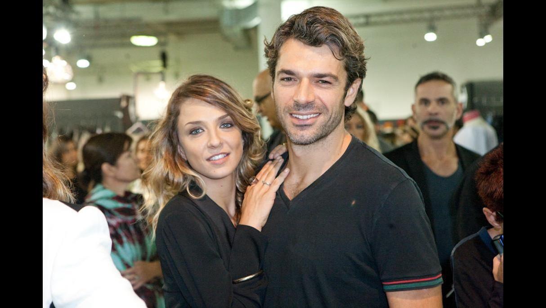 Luca Argentero e la sua Myriam uniti dalla moda nel marchio di famiglia