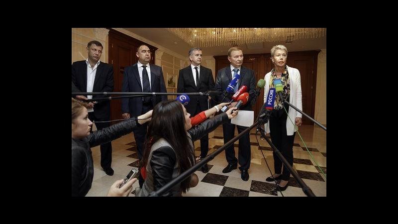 Ucraina, accordo a Minsk: ci sarà zona cuscinetto demilitarizzata