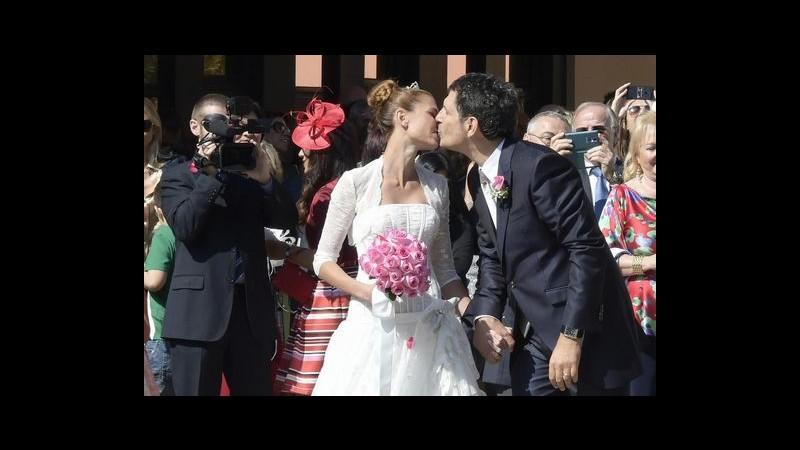 Fabrizio Frizzi e Carlotta Mantovan sono marito e moglie