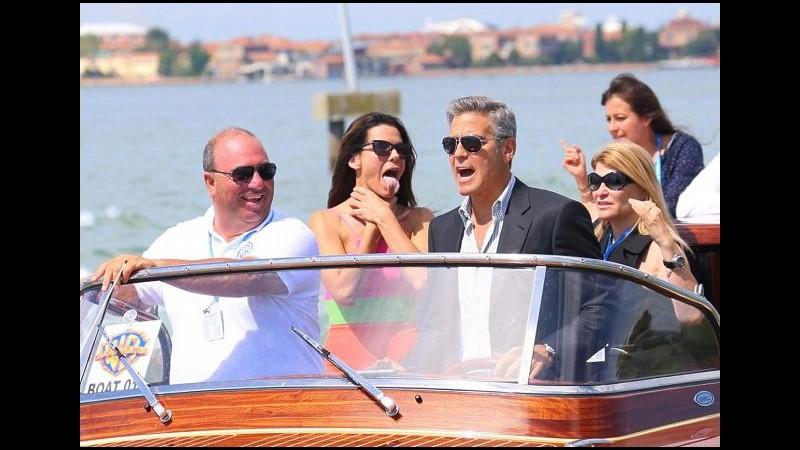 Le nozze di Clooney, George sbarca a Venezia: i dettagli del matrimonio