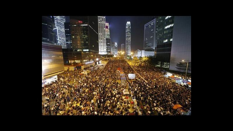 Hong Kong, dopo stop governo a colloqui movimento è di nuovo in strada