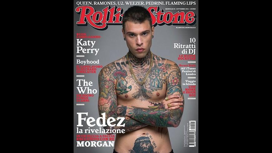 Musica, Fedez conquista la copertina di Rolling Stone