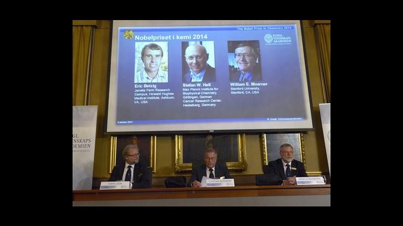 SCHEDA Nobel, i tre vincitori del premio per la Chimica