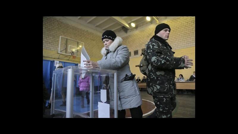 Ucraina, urne aperte per parlamentari: non si vota in zone filorusse