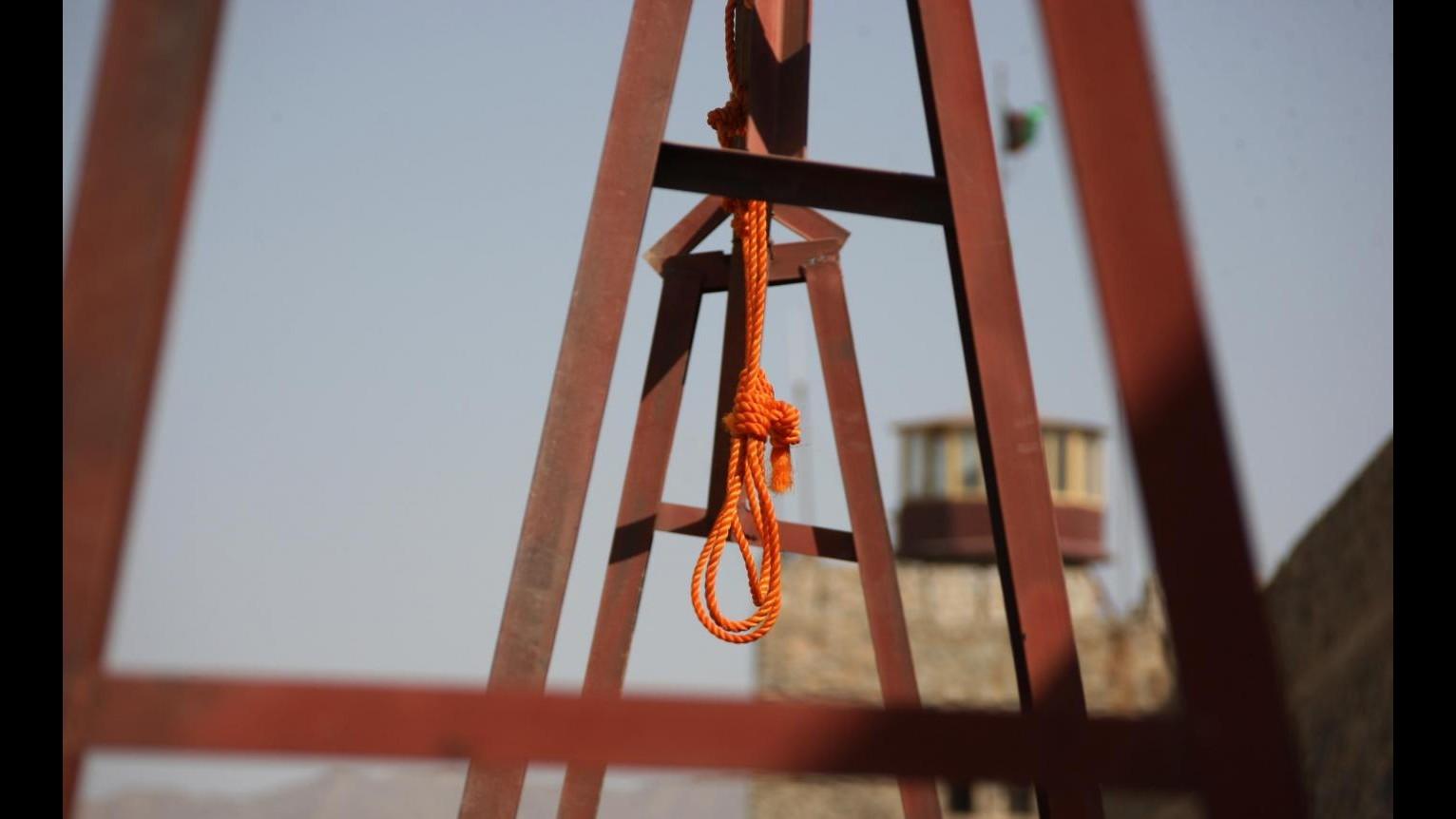 Iran, impiccata Reyhaneh Jabbari: uccise l'uomo che tentò di violentarla