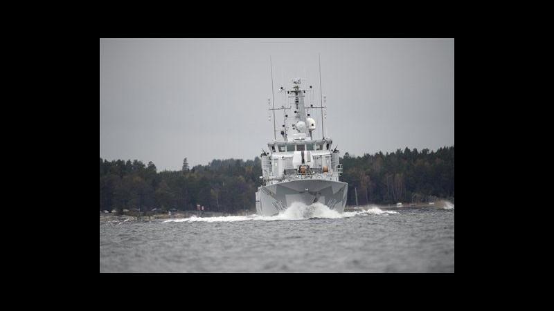 Svezia, interrotte ricerche sospetto sottomarino straniero
