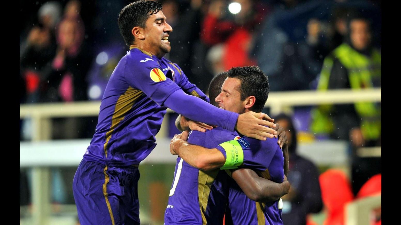 Europa League: Paok ferma Fiorentina al Franchi, ma Pasqual regala qualificazione