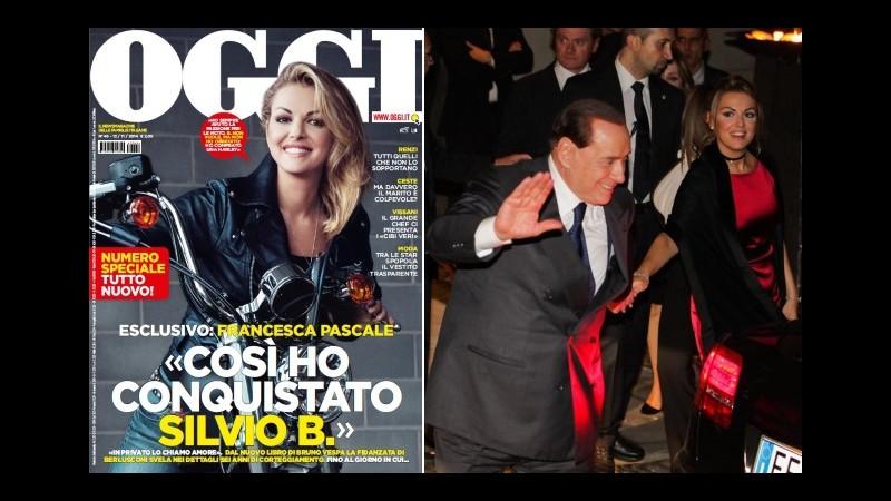 Francesca Pascale racconta a Vespa: Così ho conquistato Berlusconi