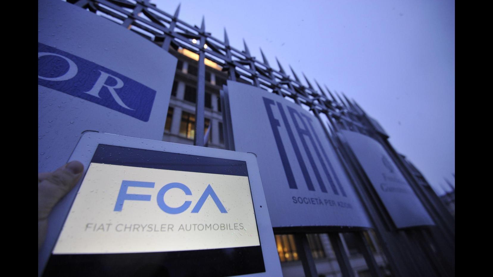 Fca, vendite Chrysler in Usa +22%, ottobre migliore dal 2001