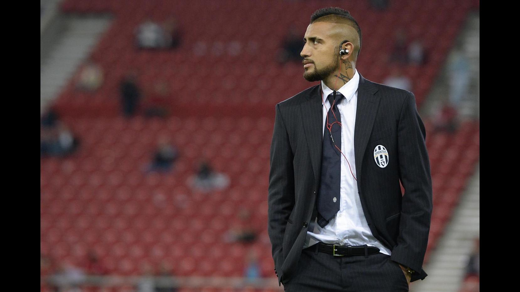 Juventus, Vidal: Sto molto bene, contro Olympiacos come una finale