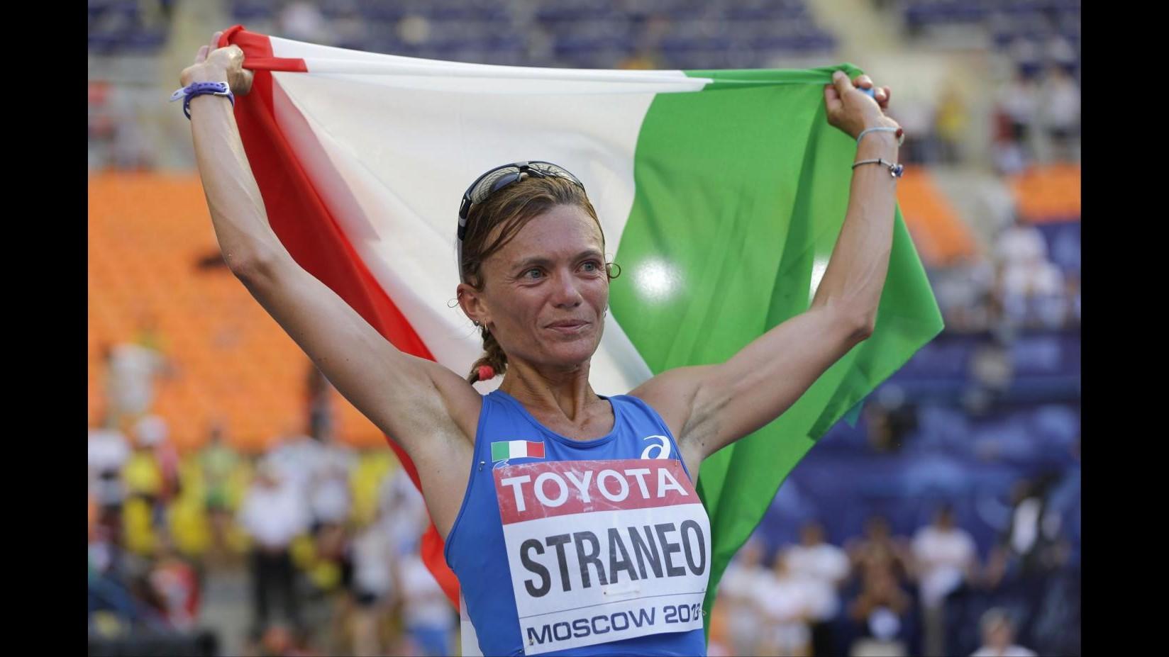 Atletica, Valeria Straneo alla Maratona di New York