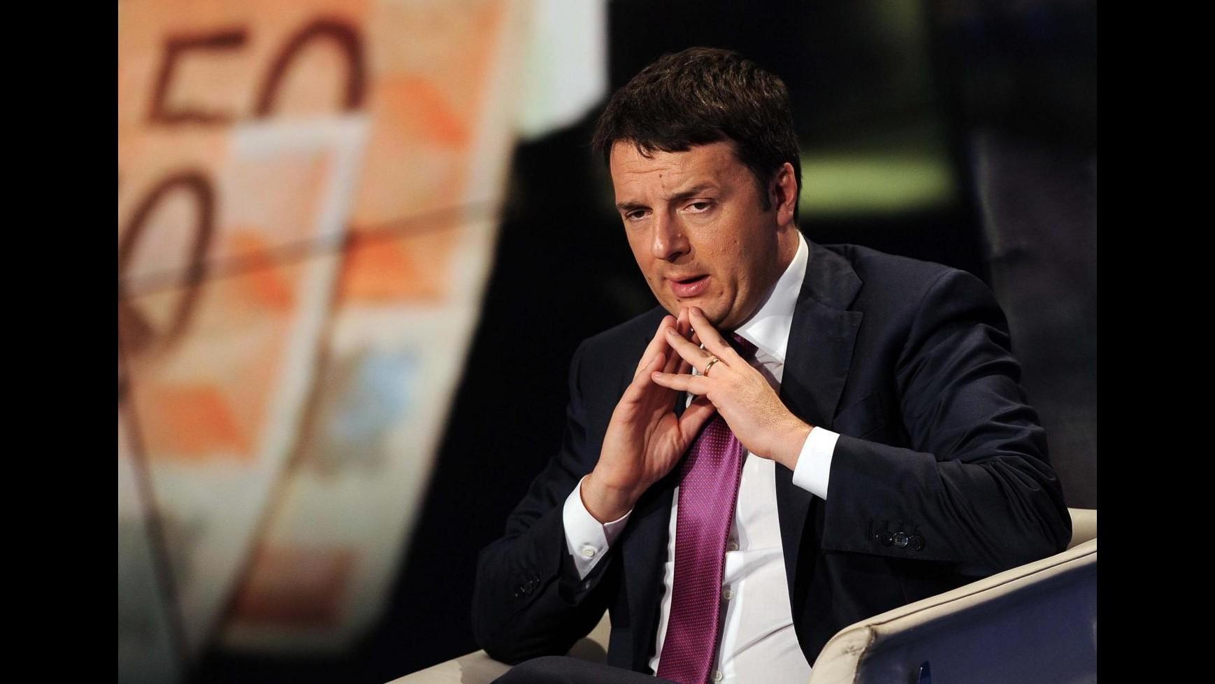 Rai, via libera di Renzi al canone nella bolletta dell'elettricità