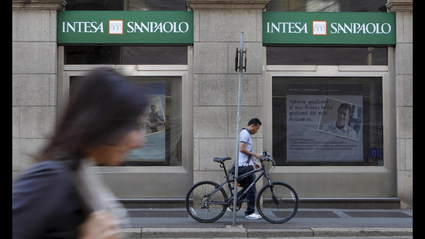 Intesa Sanpaolo: Utile netto 9 mesi a 1.203 mln (+88% sul 2013)