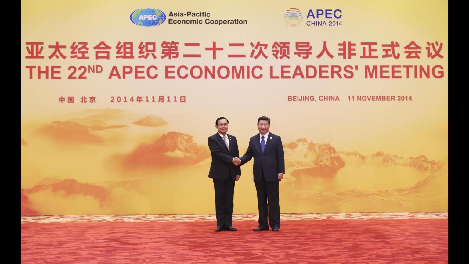 Apec, Xi Jinping:  Approvata roadmap verso accordo libero scambio