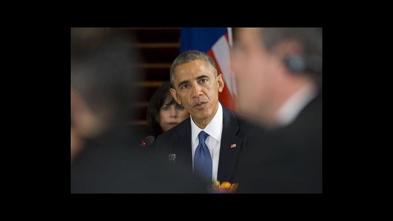 Obama: Accordo libero scambio fra 12 Paesi del Pacifico può essere patto storico