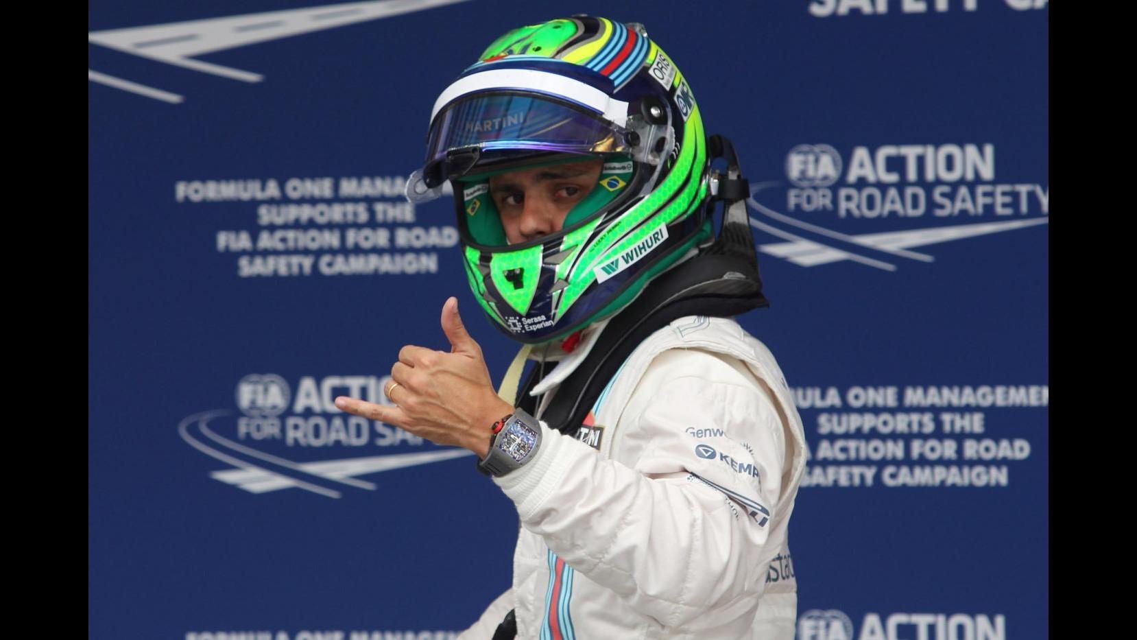 F1, Massa: Macchina competitiva, spero in bel risultato in gara