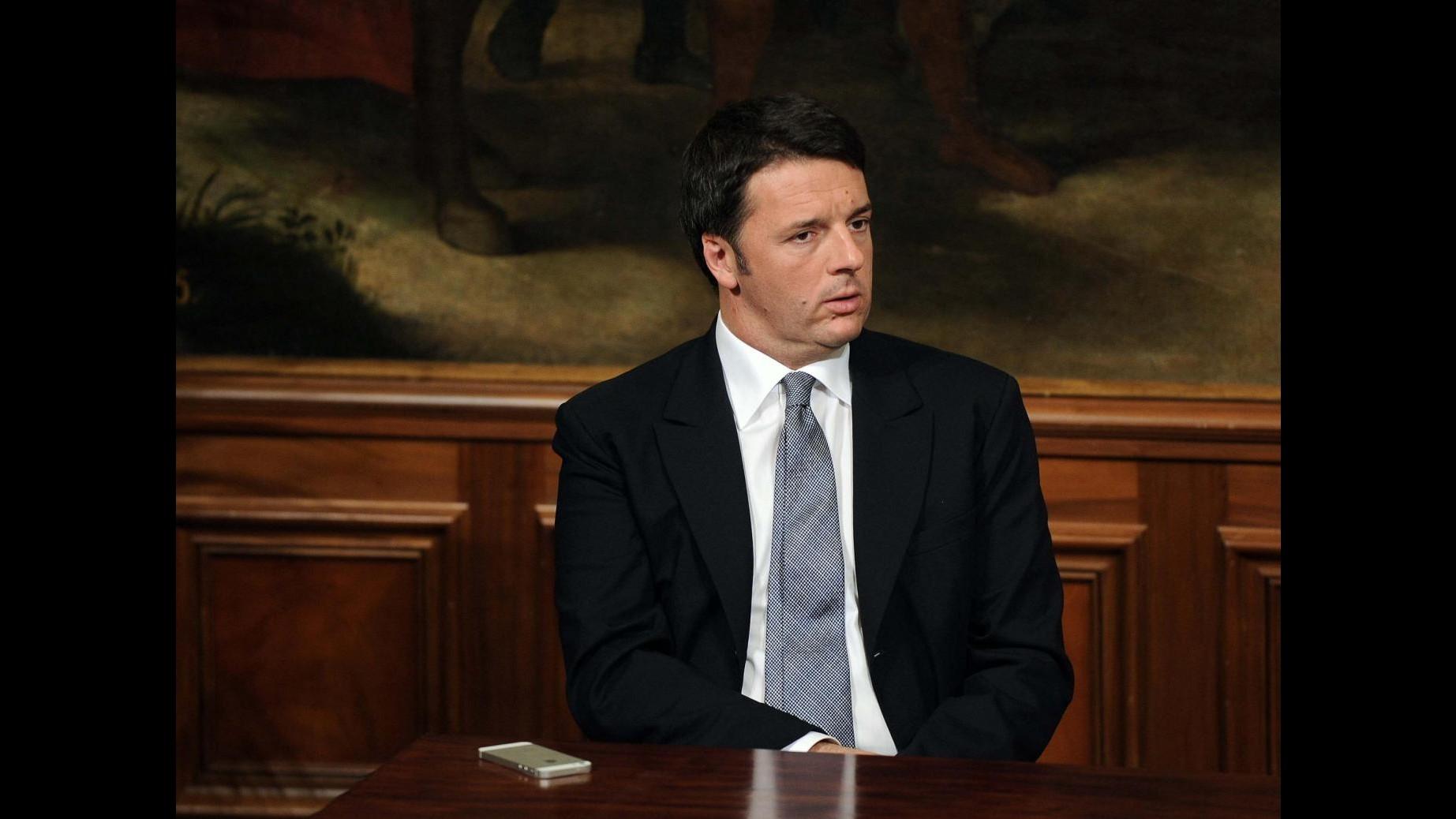 Governo, oggi Renzi a Reggio Calabria: visita all'Ansaldo Breda