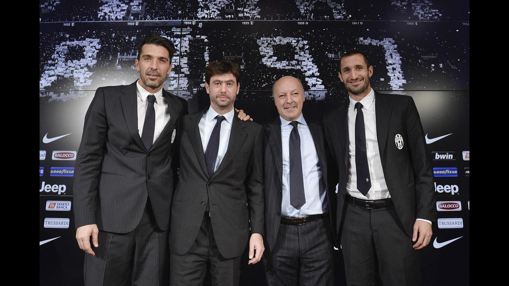 Juventus, Buffon e Chiellini: Rammarico per aver mancato finale Europa League