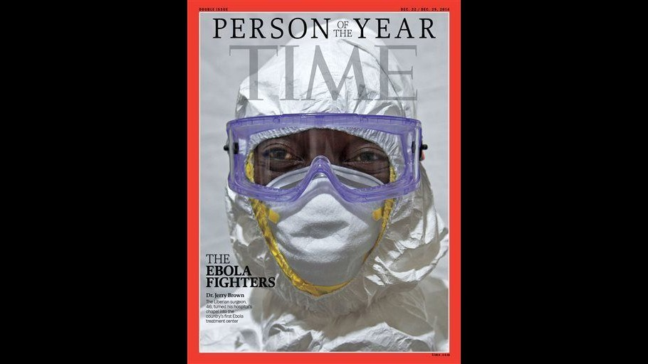 Ebola, medici e volontari sono personaggio del 2014 per rivista Time