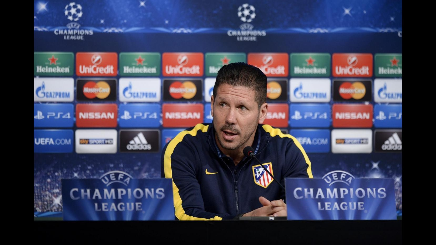 Chammpions League, Simeone: Con Juve ci sarà ci sarà atmosfera di una finale