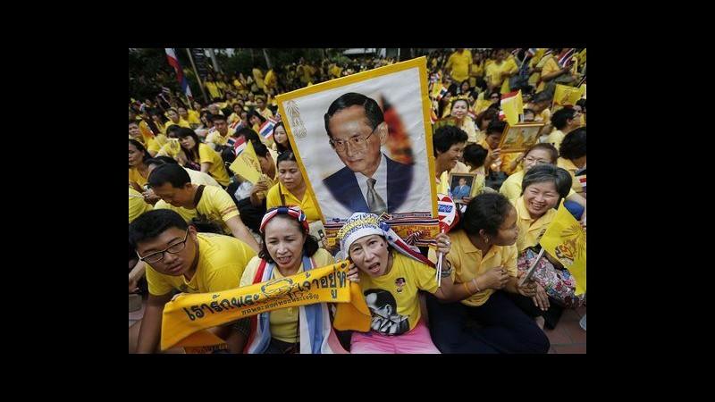 Thailandia celebra 87 anni del re: lui assente per motivi di salute