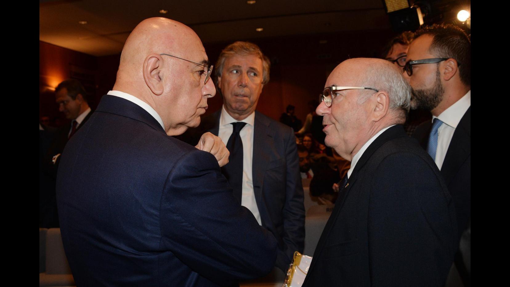 Calcio, Galliani scrive a Tavecchio: Tecnologia gol-non gol indispensabile