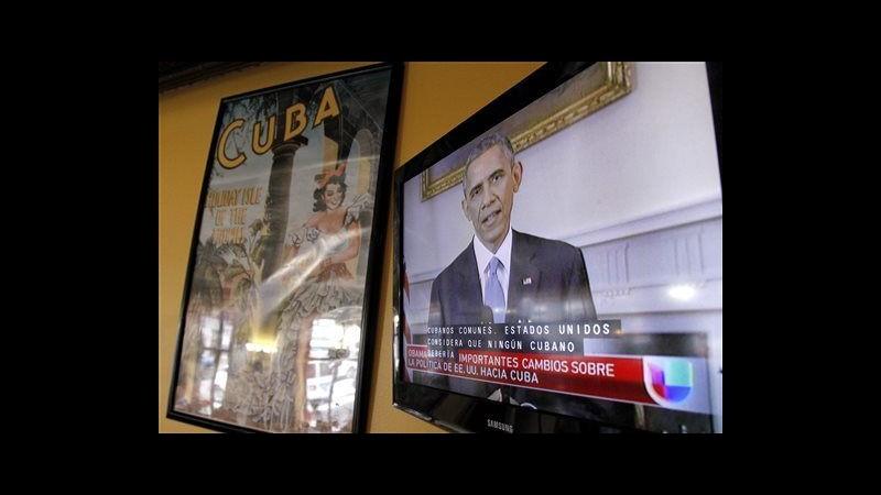 Svolta storica nei rapporti Cuba-Usa. Obama vuole rimozione embargo
