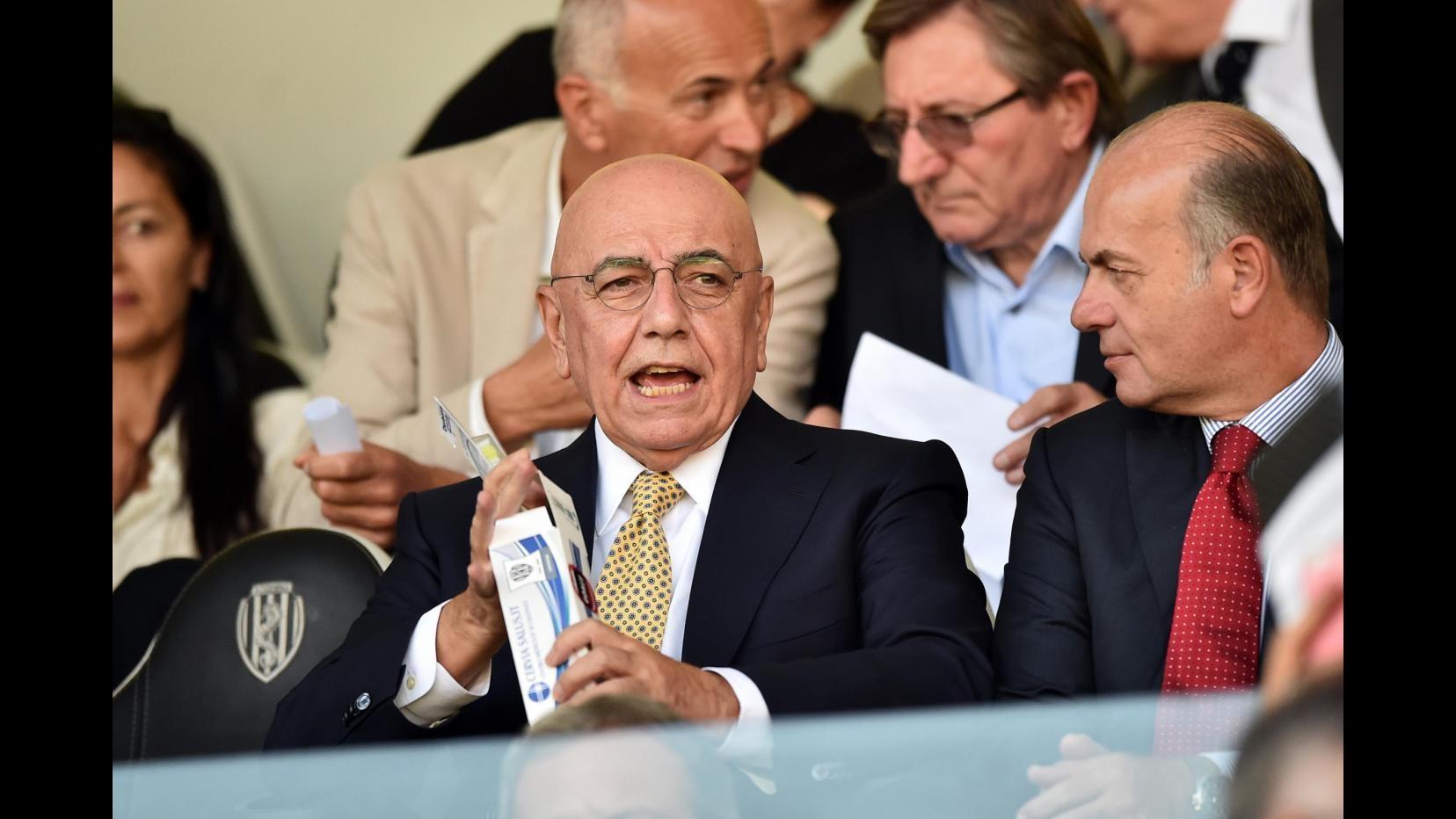 Milan, Galliani promuove Inzaghi: Farà bene l'allenatore, spero come Ancelotti