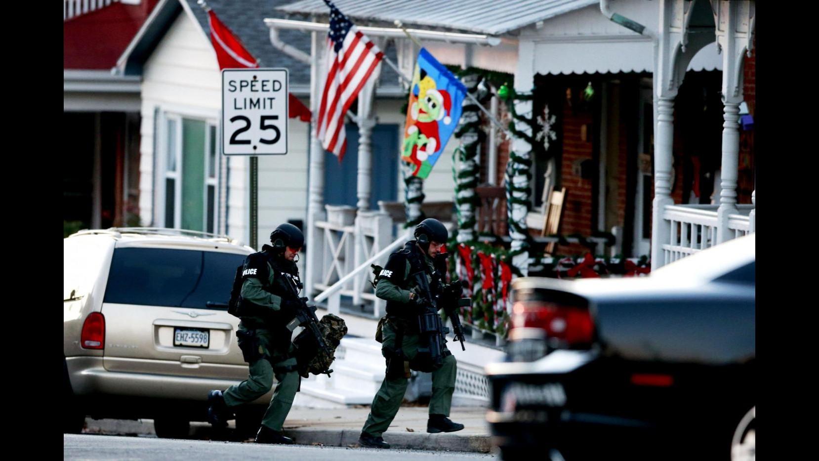 Usa, strage familiare in Pennsylvania: prosegue caccia a veterano